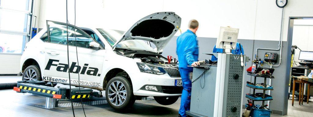 Autohaus Kläsener mit Mobilitätsgarantie