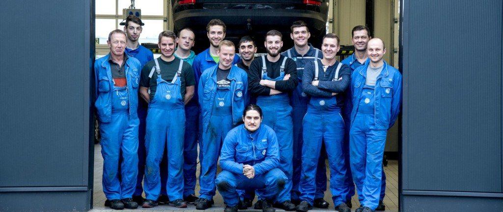 Unser Service Team im Autohaus Kläsener